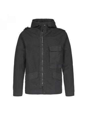 Cg Hooded Jacket-Jet Black