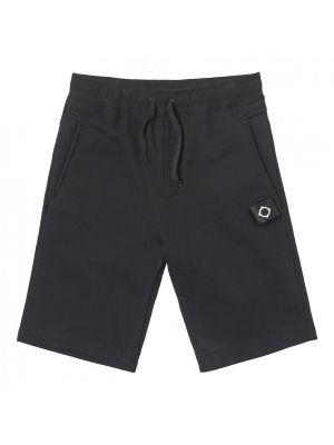 Core Sweat Short-Jet Black