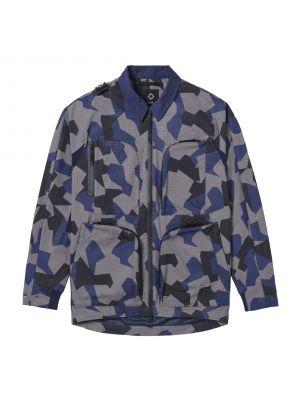 Cr Four Pocket Jacket-Black Base Camo