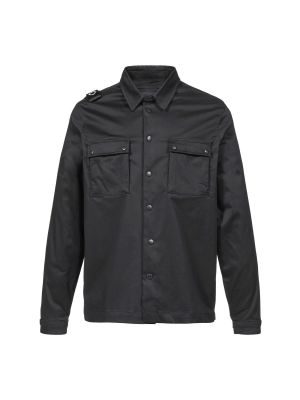 Dh Two Pocket Overshirt-Jet Black