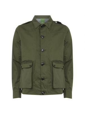 3 Layer Camp Length Jacket-Militia Green