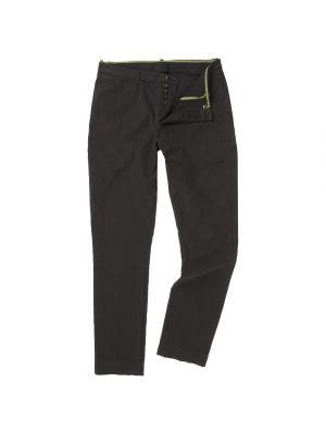 Twill Trousers-Jewel Black