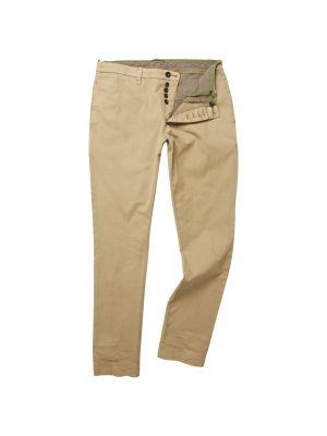 Twill Trousers-Desert Khaki