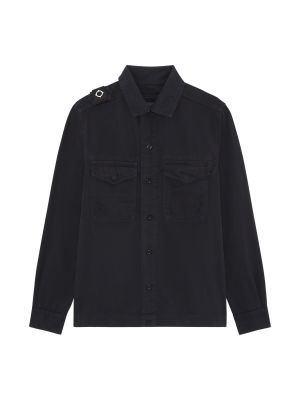 Two Pocket Gd Overshirt-Dark Navy