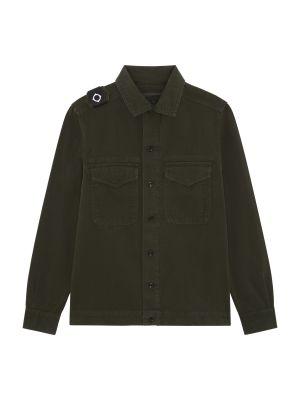 Two Pocket Gd Overshirt-Oil Slick