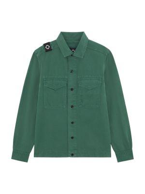 Two Pocket Gd Overshirt-Teal