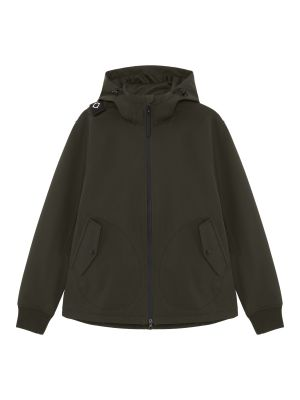 Softshell Full Zip Hooded Jacket-Oil Slick