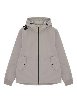Softshell Full Zip Hooded Jacket-Quicksilver