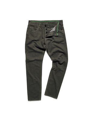 Straight Leg Garment Dyed Twill (34L)-Oil Slick