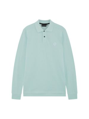 Ls Pique Polo-Mist Green