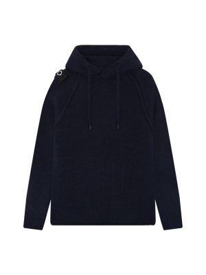 Overhead Hoody Knit-Dark Navy