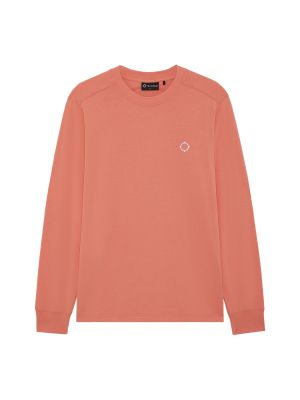 Ls Icon Tee-Coral