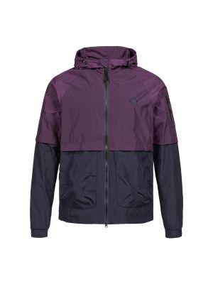 Nt Hooded Jacket-Aubergine