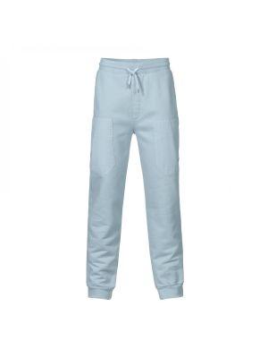 Patch Pocket Track Pant-Storm Blue