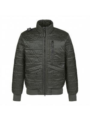 Polygon Quilt Jacket-Oil Slick