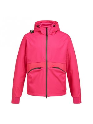 Softshell Hooded Jacket-Fuchsia