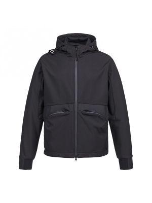 Softshell Hooded Jacket-Jet Black