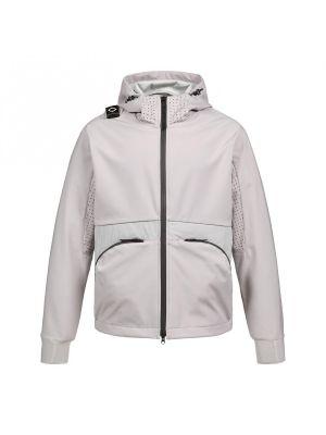 Softshell Hooded Jacket-Quicksilver