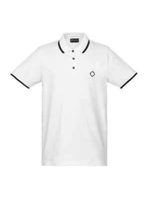 Ss Jersey Polo-Optic White