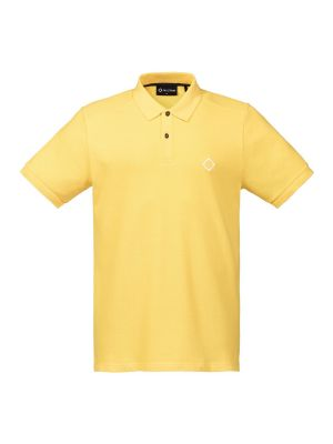 Ss Pique Polo-Citrus Yellow