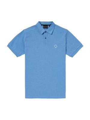 Ss Pique Polo-Dutch Blue