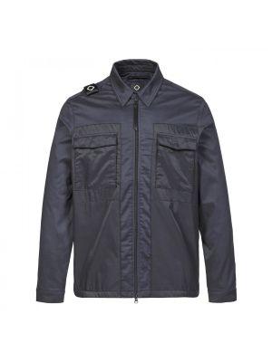 Zip-Through Overshirt-Ink Navy